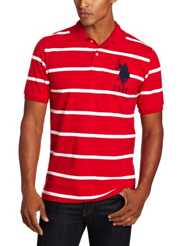 us-polo-assn-mens-narrow-striped-polo-with-big-pony-engine-red-white-xx-large
