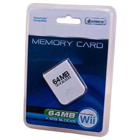 Wii/Gamecube 64MB Memory Card (1019 Blocks)
