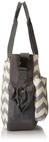 Skip Hop DUO DOUBLE hold-it-all diaper bag, Chevron