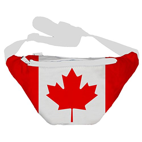 Funny Guy Mugs Canadian Flag Fanny Pack (Hippie Fanny Pack compare prices)