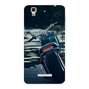 Gorgeous Bike Chopper Multicolor Back Case Cover for Yu Yureka