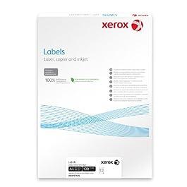 XErox 003R95813 couleur-étiquettes adresses-format a4/99 x 139 mm-blanc - 100 feuilles