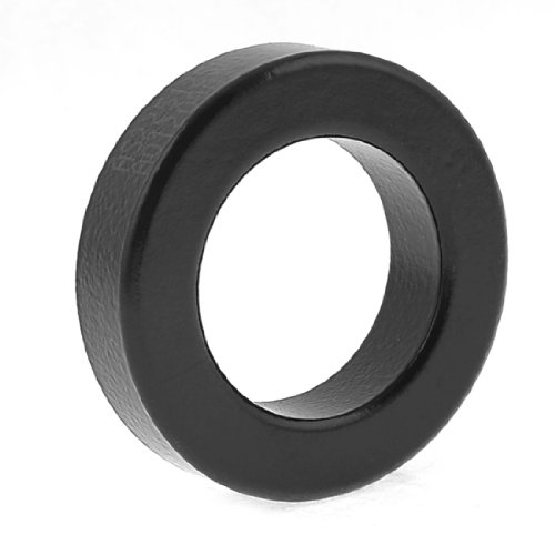 uxcell Transformer Choking Coil Parts Toroid Ferrite Core AS225-125A Black (Current Transformer Coil compare prices)