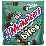 Mars Candy, 3 Musketeers, Unwrapped Bites, Mint, 6oz Bag (Pack of 3)