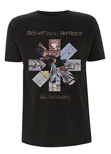 Red Hot Chili Peppers The Getaway Flea Rock ufficiale Uomo maglietta unisex (Small)