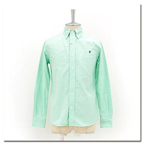 Gymphlex ジムフレックス メンズ オックスフォードBDシャツL/S[J-0643YOX] XLサイズ 4 MINT GREEN