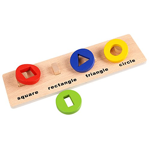 Arshiner-Learning-Development-Educational-Wooden-Geometric-shapes-Sorting-Board-Toys