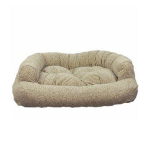 Snoozer Overstuffed Luxury Pet Sofa, Large, Navy front-882538