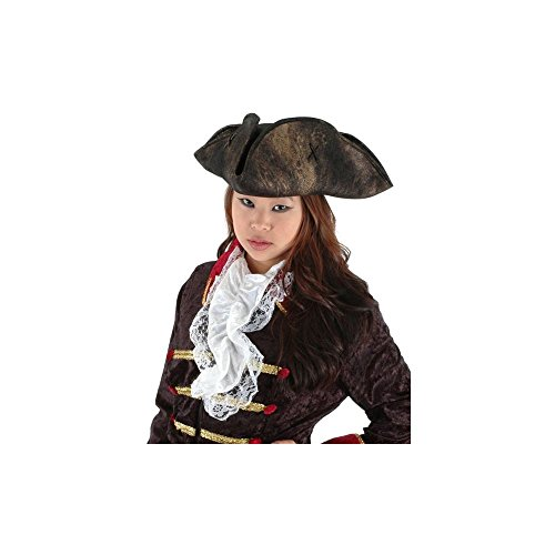 [Scallywag Pirate Hat (Brown) Adult Accessory] (Scallywag Pirate Costume)