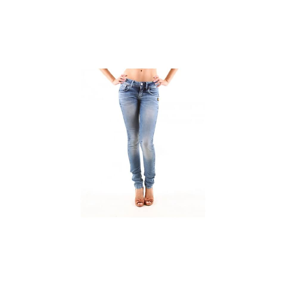 Lynn Skinny Fit Hüftjeans G-STAR RAW DAMEN Jeans Grau Röhre Röhrenjeans