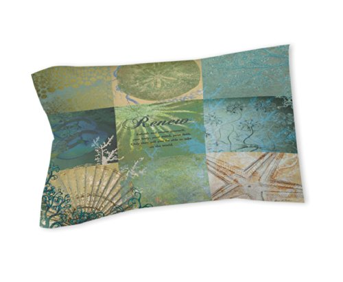 Thumbprintz Pillow Sham, Standard, Spa Under The Sea Renew front-474386