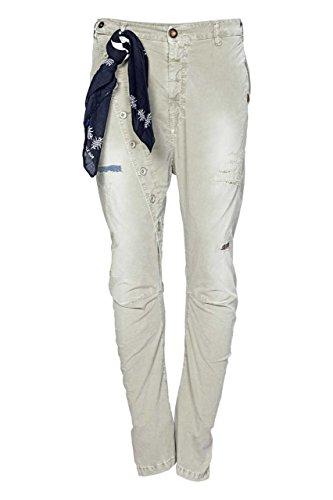 Berna Pantaloni Chino PRAVDA, uomo, Colore: Oliva, Taglia: 48