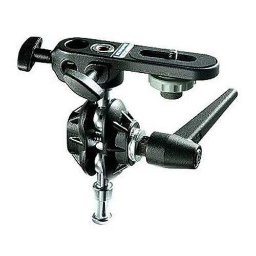 Bogen - Manfrotto Double Ball Joint Head w/Camera Platform bogen manfrotto double ball joint head w camera platform