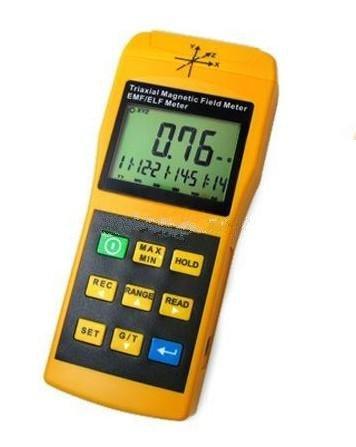 Gowe Tri-Axis Sensor Digital 2000mG Gaussmeter EMF ELF Electro Magnetic Field Gauss Meter (Digital Gauss Meter compare prices)
