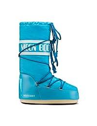 Moon Boot Nylon Mini & Junior Boot Turquoise