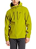 Mountain Hardwear Chaqueta Soft Shell Hooded Hueco (Verde)