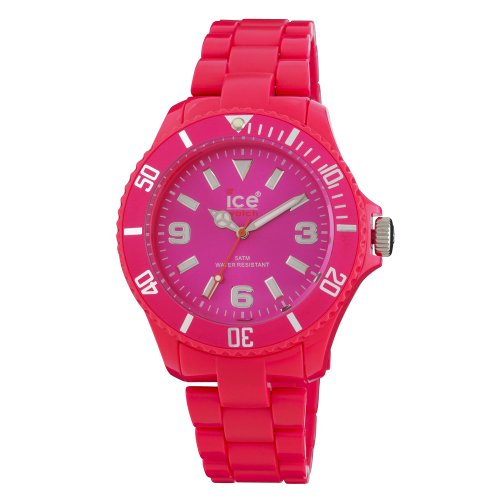 Ice-Watch Women'S Cf.Pk.B.P.10 Classic Fluo Pink Polycarbonate Watch