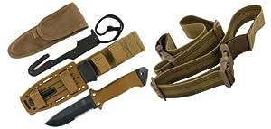 Gerber 22-01400 LMF II Survival Knife - Coyote Brown by Gerber Blades