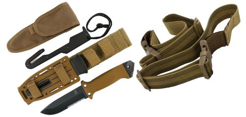 Gerber 22-01400 LMF II Survival Knife - Coyote Brown