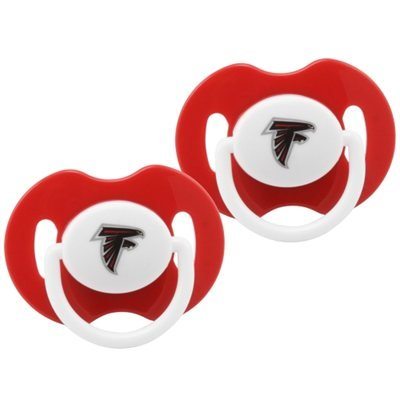 Atlanta Falcons Infant 2-Pack Pacifiers - Red front-971722