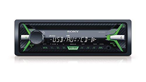 Sony-CDX-G1102U-Autoradio-CD-Player-USBAUX-Eingang-4x-55-Watt