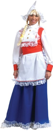 Women's Deluxe Dutch Girl Halloween Costume