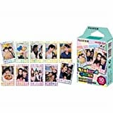 Fuji Instax Mini Films Stained Glass Instant Film, 10 Photos/pack