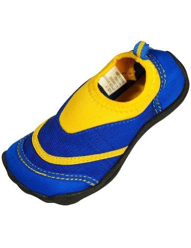 Panama Jack - Toddler Boys Aqua Foot Water Shoe, Royal, Yell