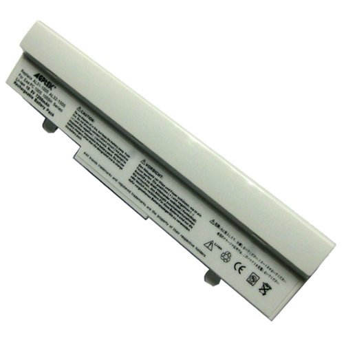 AGPtek 6600mAh Laptop Battery For ASUS Eee-PC 1001 1101HA 1101HGO 1005 1005H 1005HA 1005HAB Series Laptops P/N: Al32 AL31-1005 (Spotless)