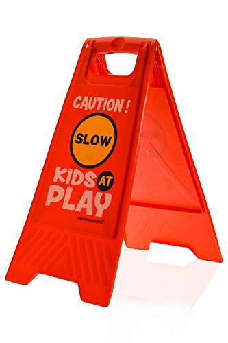 kids-playing-safety-floor-sign-for-yards-and-driveways-double-sided-red-caution-slow-kids-at-play