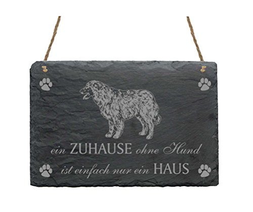 estrela-mountain-dog-slate-plaque-sign-a-home-without-a-dog-is-just-a-house-clip-on-back-cover-hard-