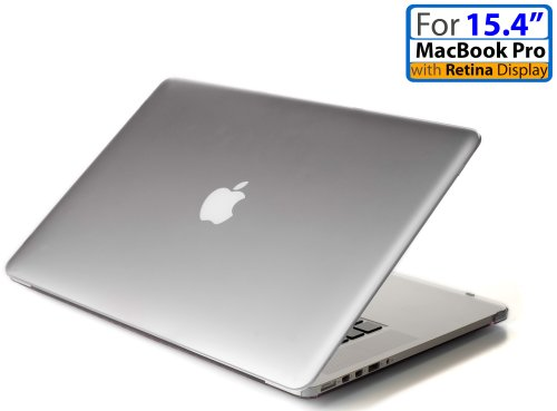 Read About iPearl mCover Hard Shell Case with FREE keyboard cover for 15-inch Model A1398 MacBook Pr...