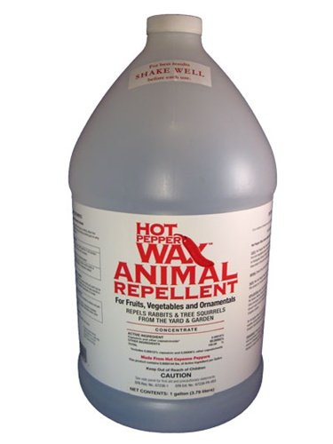 Hot Pepper Wax Animal Repellent, 1 Gallon Concentrate