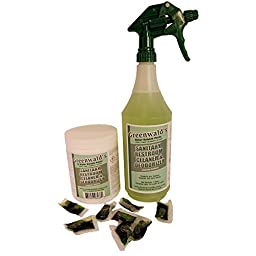 Greenwald\'s Sanitary Restroom Cleaner - Includes Bonus Refill Packet and Professional Spray Bottle - 12 Count