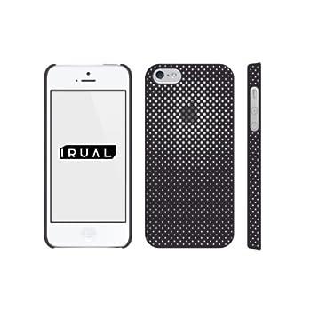 iPhone 5 ケース カバー | Minimal Skin Case for iPhone 5 マットブラック | IRUAL | IRMSC500-MBK 【製品保証付き】