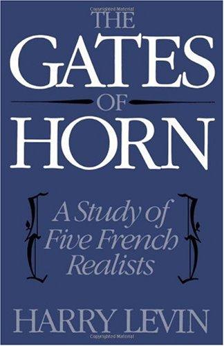 Die Tore von Horn: eine Studie über fünf französischen Realisten