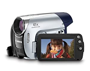 Canon ZR900 MiniDV Camcorder with 37x Optical Zoom