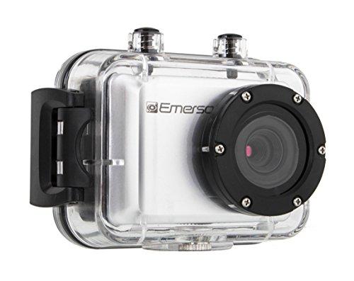 Emerson EVC555SL EVC555 HD Action Camera (Silver) (Emerson Action Cam Digital Video compare prices)