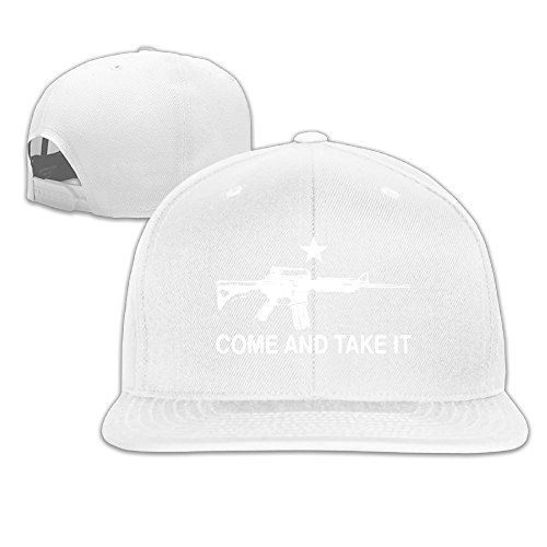 Black AR-15 Come And Take It Men Flat-along Baseball Hats Embroidery (Ar15 Custom Dust Covers compare prices)