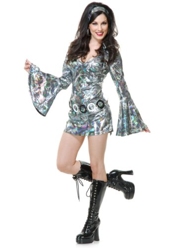 Womens Disco Queen Halloween Costume