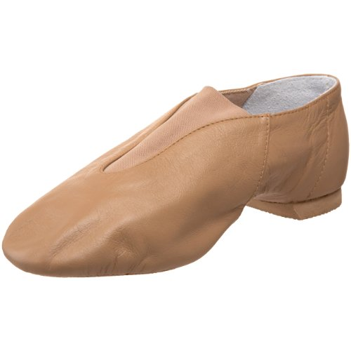 Bloch Dance Super Jazz Shoe,Tan,10 X Us Toddler front-1011443