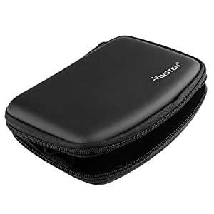Insten Compact Premium GPS Carrying Case Compatible with Garmin Nuvi 255W 4.3