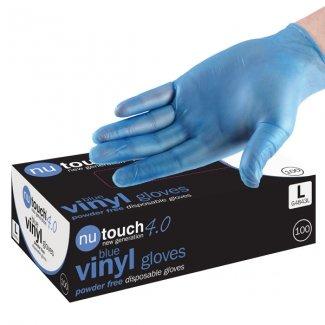 misura-grande-blu-500-nutouch-4-miglior-prezzo-guanti-usa-e-getta-in-vinile-senza-polvere-preparazio