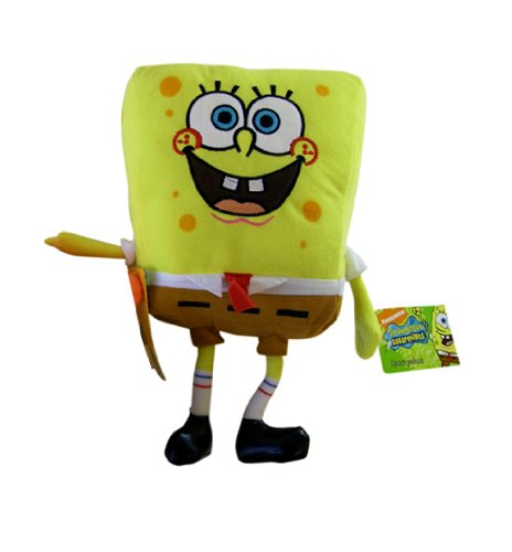 Nick Jr Spongebob Plush Doll - 7in Spongebob Stuffed Animal - 1