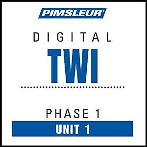 Twi Phase 1, Unit 01 Audiobook
