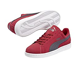 PUMA 356753 Mens Puma Smash Buck Shoes, Rio Red/Periscope - 9
