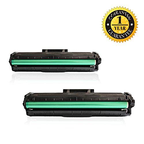 GlobalToner 2 Pack Replacement Samsung MLT-D101S/XAA Toner Cartridge for Samsung ML-2160/ML-2161/ML-2162/ML-2165/ML-2166/SCX-3400/SCX-3406W/SCX-3406HW/SCX-3401/SCX-3401FH Printers