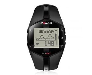 POLAR FT80 Heart Rate Monitor, White Dial