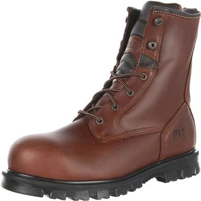 (大降)天木兰Timberland PRO Boomtown ST男士真皮博姆敦工装靴 折后$105.74