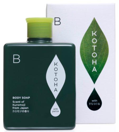 KOTOHA with yuica 日本の森のアロマソープ クロモジの香り 300ml